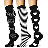 Compression Socks,(3 Pairs) Compression Sock Women...