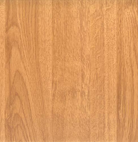 Klebefolie Holzoptik Eiche Hell, Dekofolie, Möbelfolie, Tapeten, selbstklebende Folie, PVC, ohne Phthalate, Natur-Holzoptik, 45cmx3m, 95µm (Stärke: 0,095 mm), Venilia 53148