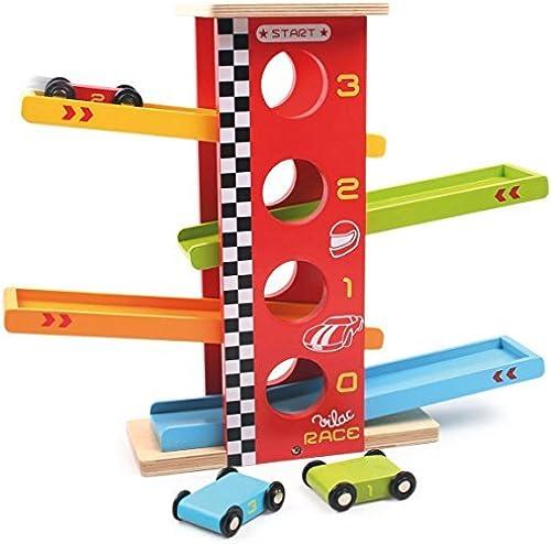 minorista de fitness Vilac 31 x 38 x 12 cm Cars Race Tower Tower Tower by Vilac  tienda de venta