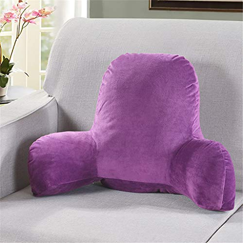 Nesee Plush Reading Pillow - Best Bed Pillow with Arm Reading Bed - Perfect for Teens, and Kids
