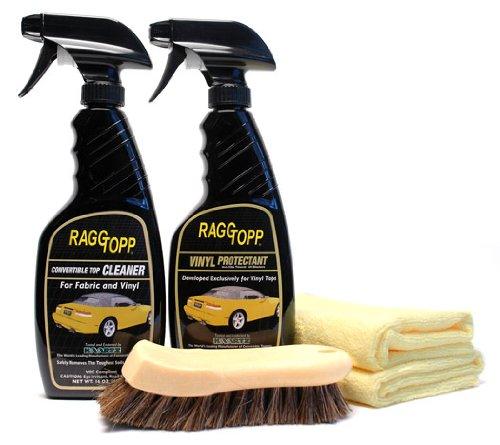 Raggtopp Vinyl Convertible Top Cleaner/Protectant Kit
