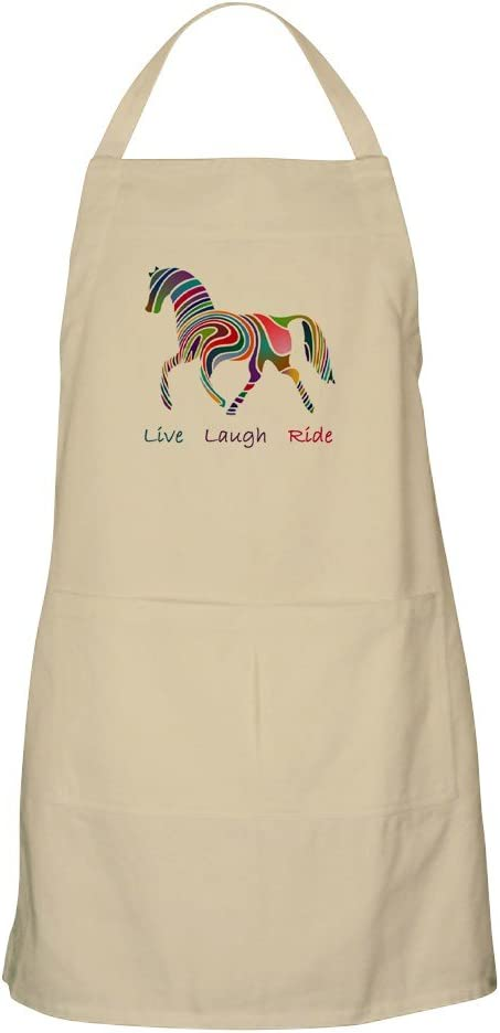 CafePress Rainbow Horse Gift Kitchen Grillin Pockets with 5 popular Apron Mail order cheap