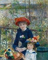 ルノワール・[Auguste Renoir] プリキャンバス複製画・ ギャラリーラップ仕上げ(8号サイズ)