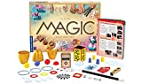 Thames & Kosmos Magic: Gold Edition | Playset with 150 Tricks | 96 Page Full Color Instruction Manual | 42 Props | Video Tutorials | Fun for Kids 8+