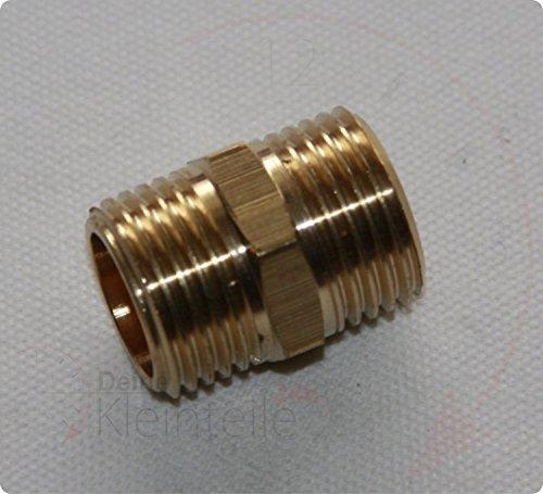 Raccord de mamelon double possibilité ubfitting Fitting Transition Anneau de serrage Anneau de serrage en laiton filetage extérieur, 5/4\