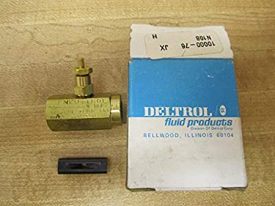 Deltrol N10b Needle Valve Brass 1/8 In Npt *new In A Box* from Deltrol Fluid Products