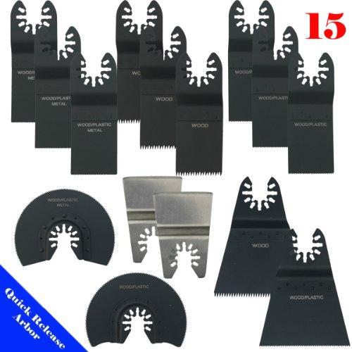 Fantastic Deal! MTP TM 15 /Bi-metal / Japan / Fine Quick Release Universal Fit Multi Tool Oscillatin...