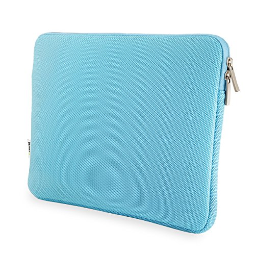 32nd Cushioned [Water-resistant] Laptop Sleeve, Universal Carrying Case Bag for 11-11.6 Inch Laptop/Macbook Air/Chromebook/Computers/Notebook/Tablets - Light Blue