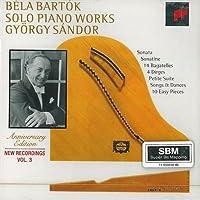 Solo piano works vol.3 Sonata per piano Sz 80 (1926) BB 88 Sonatina Sz 55 BB 69 (1915) per piano Bagatella op 6 Sz 38 (1908) n.1 > n.14 Dirges Sz 45 op 9a n,1 > n.4