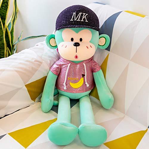 Lindo Mono Pipi muñeco de Peluche de Juguete Lindo Brazo Largo Mono Colgante Almohada para Dormir muñeca muñeca 100 cm 1,5 kg B