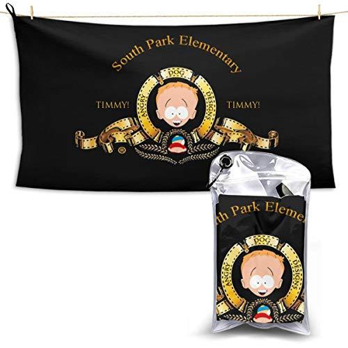 N / A South Park Schal Handtuch Towel Schnelltrocknende Handtücher Leichtes Und Schnell Trocknendes Badetuch Reisetuch