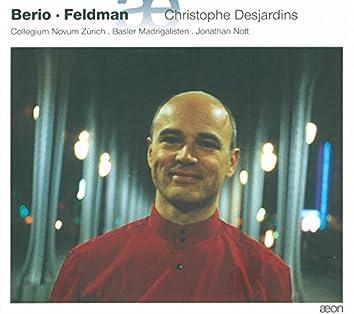 Berio & Feldman: Voix d'Alto