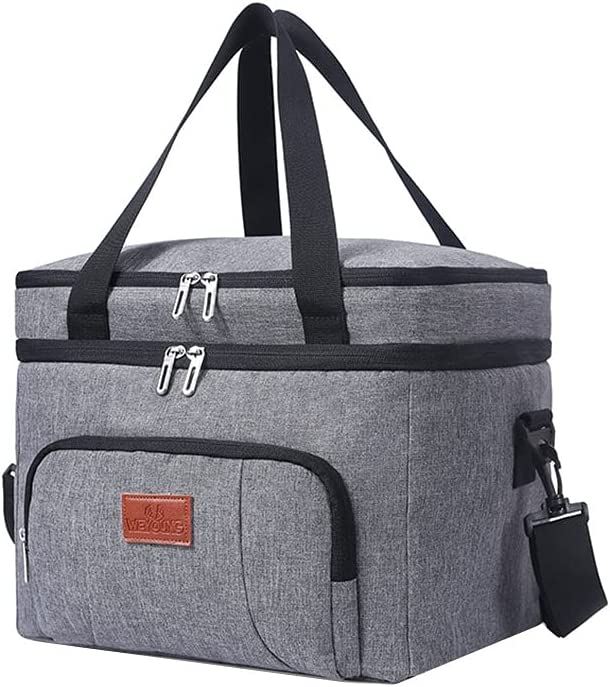 Springdoit outlet Commercial Insulated Food Long Beach Mall Delivery 10 25L Double- Bag