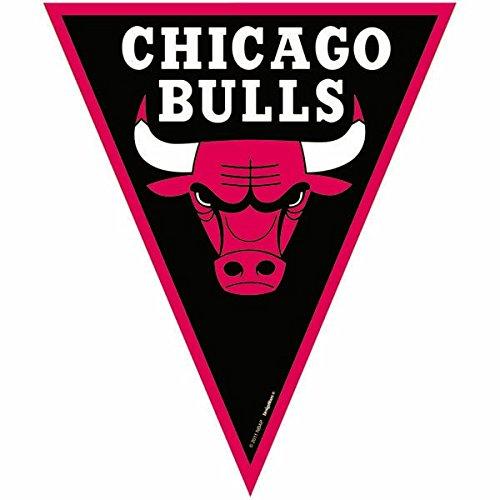 Amscan 123612 Chicago Bulls NBA Collection - Striscione per feste 12 1 ct