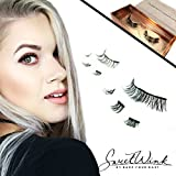 Magnetic Eyelashes in Style Princess Diana   Sweet Wink by Bare Your Hart   DELUXE EDITION   LARGE (30MM) SIZE
