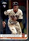 2019 Topps Chrome Update #49 Mike Yastrzemski San Francisco Giants MLB Baseball Card (RC - Rookie Card) NM-MT. rookie card picture