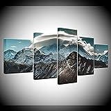 Poster Himalaya Landschaft 5 Stück Hd Wallpapers Kunst