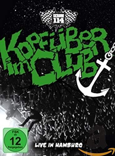Kopfüber im Club-Live in Hamburg