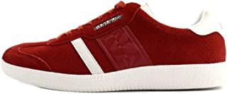 Zapatillas de Cuero para Hombre Rojo Rojo
