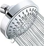 Tibbers Shower Head, High Pressure 5 Settings Showerhead with...