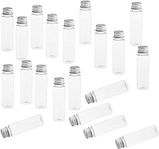 Desconocido Generic 20 Piezas 30 Ml Botella Cosmética de Plástico Vacía Botellas de Artículos de Tocador Recargables Trans...
