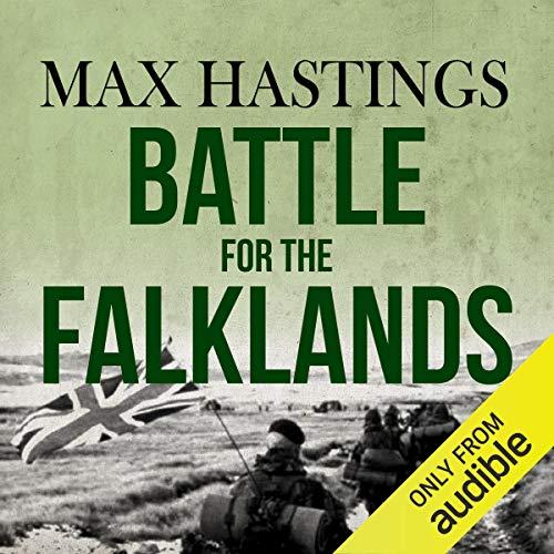 Battle for the Falklands audiobook cover art