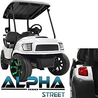 Madjax New!!! Club Car Precedent Alpha Street Style Body Kit in White