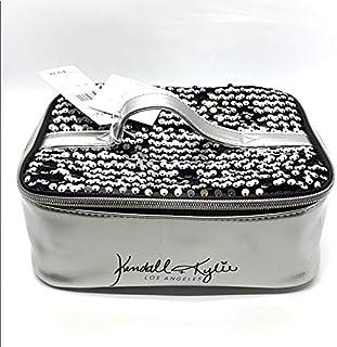 کیف و کیف آرایش کندال کایلی مشکی و نقره ای Sequin