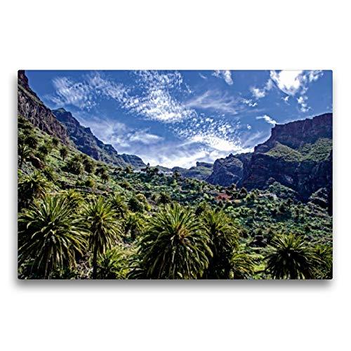 CALVENDO Premium Textil-Leinwand 75 x 50 cm Quer-Format Schlucht von Masca, Leinwanddruck von Frank Brehm