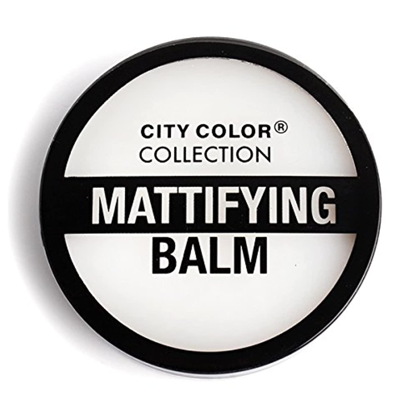 標高ヒゲクジラ仮定する(3 Pack) CITY COLOR Mattifying Balm Face Primer (並行輸入品)