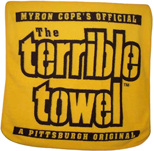 The Terrible Towel Fleece Throw Blanket 50' x 60'