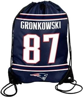 New England Patriots Gronkowski R. #87 Drawstring Backpack