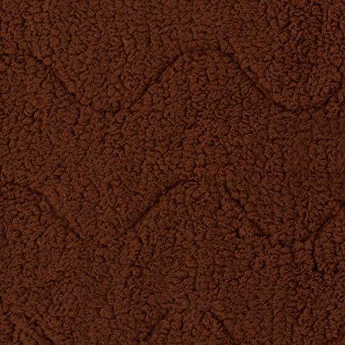 ペティオ『やさしい手ざわりの4層あったかマットブラウンSサイズ(W25344)』
