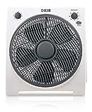 HJM VB30 Box-fan, 45 W, Plástico, 3 Velocidades, Blanco