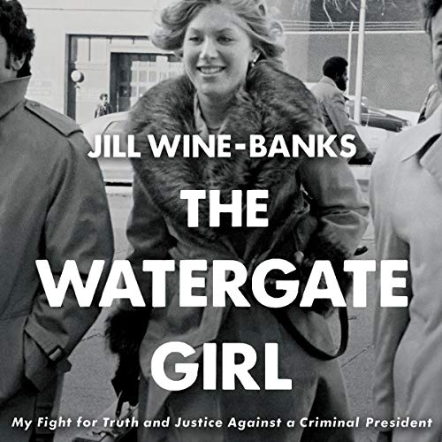 The Watergate Girl audiobook cover art