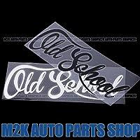 OLD SCHOOL オールドスクール ヘラフラ スタンス ステッカー 1枚 走り屋 JDM usdm 環状 旧車 ネオクラシカル シルビア スカイライン