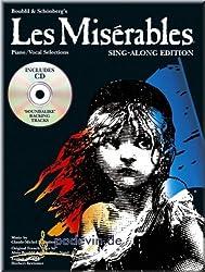 Les Misérables Selections-SING ALONG Edition Kit-PIANO ET CHANT Partitions pour]