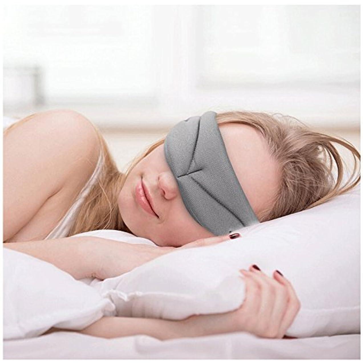 件名川胚NOTE 睡眠マスク、超柔らかい記憶泡の睡眠カバー、呼吸が簡単なアイシェード