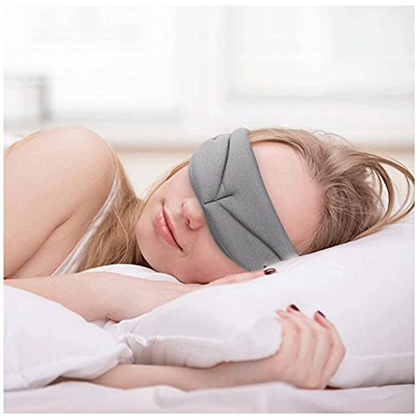 ビタミンわずらわしい規則性NOTE 睡眠マスク、超柔らかい記憶泡の睡眠カバー、呼吸が簡単なアイシェード