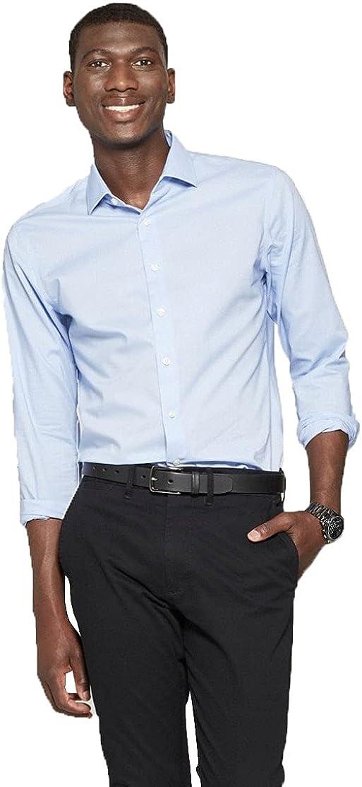 Goodfellow & Co Men's Slim Fit Long Sleeves Button-Down Shirt -