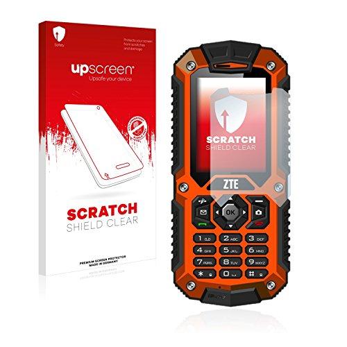 upscreen Schutzfolie kompatibel mit ZTE R28 – Kristallklar, Kratzschutz, Anti-Fingerprint