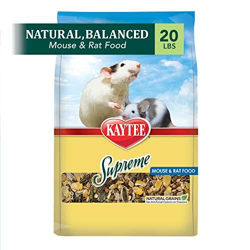 Kaytee Supreme Mouse And Rat Food, 20-Lb Bag