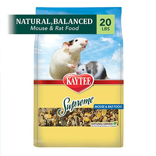 Kaytee Supreme Mouse And Rat Food, 20-Lb Bag