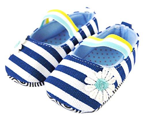 Axy Baby plastique Tapis D'éveil Chaussures Chaussures bébé 0 à 12 mois – Little Princess – Bleu BS4–1 - Bleu - bleu,