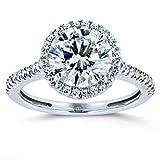 Best Kobelli Moissanite Wedding Rings - Kobelli Round Brilliant Kobelli Moissanite Halo Engagement Ring Review