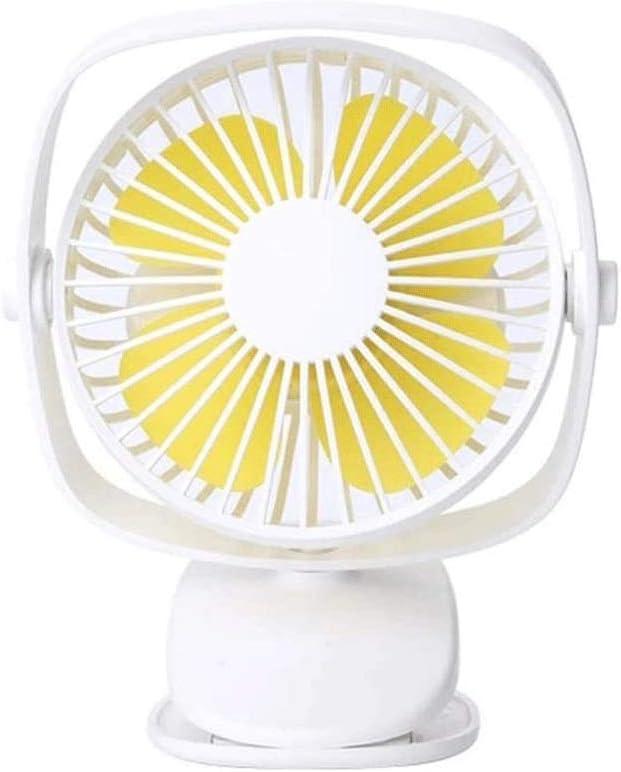 Sale item LYKYL Desk Fan Noiseless USB Head 3 with Outstanding Speeds Adjustable
