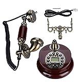 Teléfono antiguo, teléfono fijo digital vintage, teléfono fijo clásico europeo...