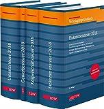 Steuer-Paket 2018: Ertragsteuern und Umsatzsteuer: Veranlagungshandb�cher: Einkommen-, K�rperschaft-, Umsatz- und Gewerbesteuer 2018 (Gesamtabnahme)