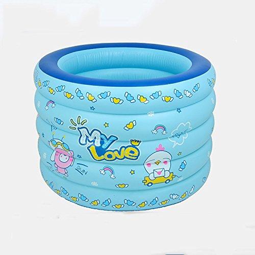 LYM & bañera Plegable Bañera Inflable respetuosa del Medio Ambiente del PVC para la bañera Que Espesa de la Piscina Inflable de los niños del bebé Piscina Desmontable