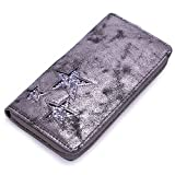 David Jones - Portefeuille Etoiles Paillette Strass Brillante Femme - Porte-Monnaie Cartes Fille...